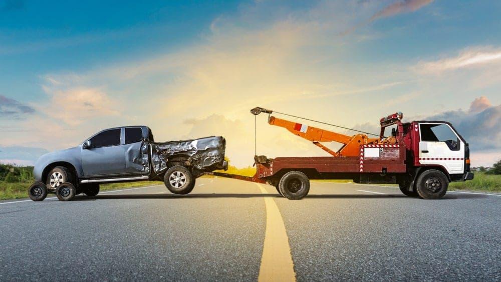 teherautó mentés